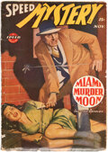 Pulps:Adventure, Speed Mystery - November 1944 (Trojan Publishing) Condition: VG....