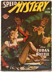 Speed Mystery - March 1944 (Trojan Publishing) Condition: VG+