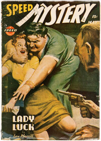 Speed Mystery - May 1944 (Trojan Publishing) Condition: VG-