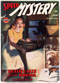 Pulps:Adventure, Speed Mystery - June 1945 (Trojan Publishing) Condition: F...