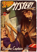 Pulps:Adventure, Speed Mystery - July 1943 (Trojan Publishing) Condition: VG-....
