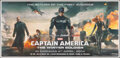 """Movie Posters:Action, Captain America: The Winter Soldier (Walt Disney Pictures, 2014). Rolled, Very Fine. Indian Six Sheet (54"""" X 112.5"""") SS Adva..."""