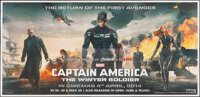 "Captain America: The Winter Soldier (Walt Disney Pictures, 2014). Rolled, Very Fine. Indian Six Sheet (54"" X 112.5&..."
