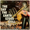 """Movie Posters:Science Fiction, The Day the Earth Stood Still (20th Century Fox, 1951). Fine+ on Linen. Six Sheet (79.5"""" X 80"""").. ..."""