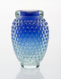 Glass, Michael Glancy (American, b. 1950). Lapis Pocodot, 1981. Glass. 5-3/4 inches (14.6 cm). Signed to base MICHAEL M GLANC...