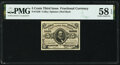 Fractional Currency:Third Issue, Fr. 1236 5¢ Third Issue PMG Choice About Unc 58 EPQ.. ...