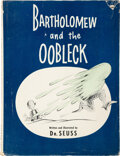 Books:Children's Books, Dr. Seuss [Theodore Geisel]. Bartholomew and the Oobleck. New York: Random House, 1949. First edition, first printin...