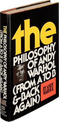 Andy Warhol. The Philosophy of Andy Warhol (From A to B & Back Again). New York: Har