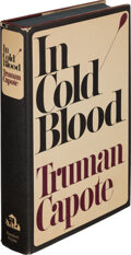 Books:Biography & Memoir, Truman Capote. In Cold Blood. A true account of a multiple murder and its consequences. New York: Random House, ...