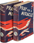Books:Mystery & Detective Fiction, Alan Amos, pseudonym [Kathleen Moore Knight]. Two copies of Pray for a Miracle. New York: Duell, Sloan and Pearce, 1... (Total: 2 Items)