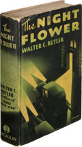 Books:Mystery & Detective Fiction, Walter C. Butler, pseudonym [Frederick Faust, perhaps best known as Max Brand]. The Night Flower. New York: Macaulay...