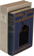 Books:Mystery & Detective Fiction, M. McD. Bodkin, Q. C. Dora Myrl the Lady Detective. London: Chatto & Windus, 1900. First edition of this rare title....
