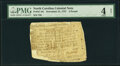 Colonial Notes:North Carolina, North Carolina November 21, 1757 5 Pounds Fr. NC-94a PMG Good 4 Net.. ...