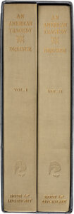 Books:Mystery & Detective Fiction, Theodore Dreiser. An American Tragedy. New York: Boni & Liveright, 1925. First edition, one of 795 copies signed b...