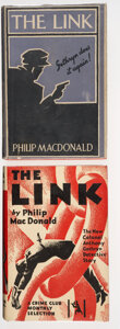 Books:Mystery & Detective Fiction, Philip MacDonald. The Link. London: The Crime Club, Ltd., [1930]. First edition. ... (Total: 2 )