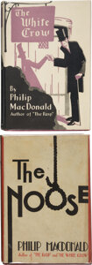 Books:Mystery & Detective Fiction, Philip MacDonald. The White Crow. New York: The Dial Press, 1928. First American edition.... (Total: 2 )