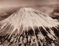 Photographs, Horace Bristol (American, 1909-1997). Close-up of Mt. Fuji taken from a B 29, 1946. Digital pigment, printed 1993. 8 x 1...