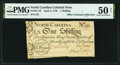 Colonial Notes:North Carolina, North Carolina April 4, 1748 1 Shilling Denomination in Circle Fr. NC-56 PMG About Uncirculated 50 Net.. ...