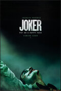 """Movie Posters:Crime, Joker (Warner Bros., 2019). Rolled, Very Fine/Near Mint. One Sheet (27"""" X 40"""") DS Advance. Crime.. ..."""