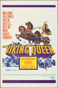 """Movie Posters:Action, The Viking Queen & Other Lot (20th Century Fox, 1967). Folded, Overall: Fine/Very Fine. One Sheets (6) (27"""" X 41""""). Action.... (Total: 6 Items)"""