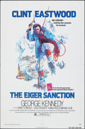 "Movie Posters:Action, The Eiger Sanction (Universal, 1975). Folded, Very Fine+. One Sheet (27"" X 41"") John Alvin Artwork. Action.. ..."