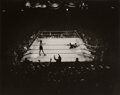 Photographs, Max Yavno (American, 1911-1985). Knockout, 1977. Gelatin silver. 15-1/4 x 19-1/4 inches (38.7 x 48.9 cm). Signed and edi...