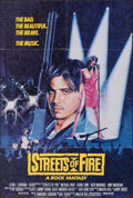 """Movie Posters:Action, Streets of Fire (Universal, 1984). Folded, Very Fine+. International One Sheet (27"""" X 40"""") Blue Style. Action.. ..."""