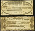 Obsoletes By State:Michigan, Detroit, MI- Detroit Bank $3; $5 circa 1808 Fine-Very Fine or Better.. ... (Total: 2 notes)