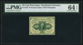Fractional Currency:First Issue, Fr. 1240 10¢ First Issue PMG Choice Uncirculated 64 EPQ.