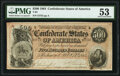Confederate Notes:1864 Issues, T64 $500 1864 PF-2 Cr. 489 PMG About Uncirculated 53.