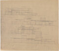 Works on Paper, Frank Lloyd Wright (American, 1867-1959). Plans for the Mr. & Mrs. E. J. Kaufmann Residence, Pittsburgh, Pennsylvania (eig... (Total: 8 Items)