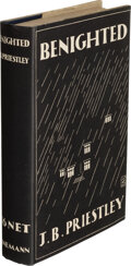 Books:Mystery & Detective Fiction, J. B. Priestley. Benighted. London: William Heinemann, Ltd., [1927]. First edition. ...