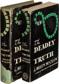 Books:Mystery & Detective Fiction, Helen McCloy. The Deadly Truth. New York: William Morrow and Company, [1941]. First edition. Presentation copy. ... (Total: 2 )