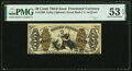 Fractional Currency:Third Issue, Fr. 1369 50¢ Third Issue Justice PMG About Uncirculated 53 EPQ.. ...