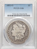 Morgan Dollars: , 1893-O $1 Good 6 PCGS. PCGS Population: (196/5240). NGC Census: (175/3555). CDN: $140 Whsle. Bid for NGC/PCGS Good 6 . Mint...
