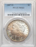 Morgan Dollars: , 1887-O $1 MS63 PCGS. PCGS Population: (4829/3409). NGC Census: (4668/1993). CDN: $120 Whsle. Bid for NGC/PCGS MS63. Mintage...