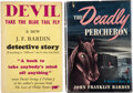 Books:Mystery & Detective Fiction, John Franklin Bardin. The Deadly Percheron. New York: Dodd, Mead & Company, 1946. First edition. ... (Total: 2 )