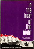 Books:Mystery & Detective Fiction, John Ball. In the Heat of the Night. New York: Harper & Row, Publishers, [1965]. First edition. Warmly inscribed b...
