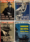 Books:Mystery & Detective Fiction, Rufus King. The Case of the Constant God. Garden City: Crime Club, 1936. First edition. ... (Total: 4 )