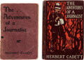 Books:Mystery & Detective Fiction, Herbert Cadett. The Adventures of a Journalist. London: Sands & Company, 1900. First edition of this Queen's Quorum ... (Total: 2 )