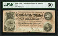 Confederate Notes:1864 Issues, T64 $500 1864 PF-2 Cr. 489 PMG Very Fine 30. ...