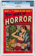 Tales of Horror #2 (Toby Publishing, 1952) CGC FN+ 6.5 Off-white pages