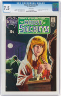 Bronze Age (1970-1979):Horror, House of Secrets #92 (DC, 1971) CGC VF- 7.5 White pages....