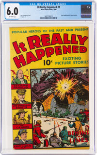 It Really Happened #1 (Wm. H. Wise & Co., 1944) CGC FN 6.0 Off-white pages