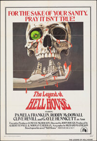 "The Legend of Hell House (20th Century Fox, 1973). Folded, Fine/Very Fine. One Sheet (27"" X 41""). Horror"