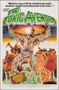 """The Toxic Avenger & Other Lot (Troma, 1985). Folded, Very Fine-. International One Sheet & One Sheet (27"""" X..."""