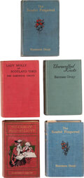 Books:Mystery & Detective Fiction, Baroness [Emma] Orczy. Group of Five Assorted Baroness Orczy Novels. London and New York: Various publishers, 1905-1925. Inc... (Total: 5 Items)