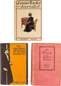 Books:Mystery & Detective Fiction, Robert Barr. Jennie Baxter, Journalist and Two Copies of The Triumphs of Eugéne Valmont. New York and Lo... (Total: 3 Items)