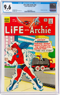 Life With Archie #42 (Archie, 1965) CGC NM+ 9.6 White pages