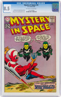 Silver Age (1956-1969):Science Fiction, Mystery in Space #76 (DC, 1962) CGC VF+ 8.5 Off-white to white pages....